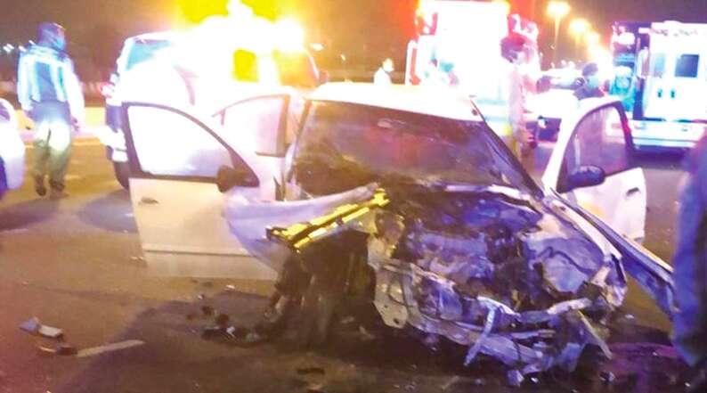 hit and run accident, crime in Dubai, al mamzar, emirates road, al barsha south