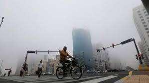UAE roads during fog, weather, fog, trucks, Dubai Police