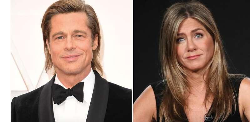 Brad Pitt, Jennifer Aniston, fundraiser, Hollywood