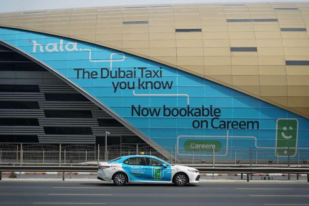 RTA, taxi, hala, careem, call centre