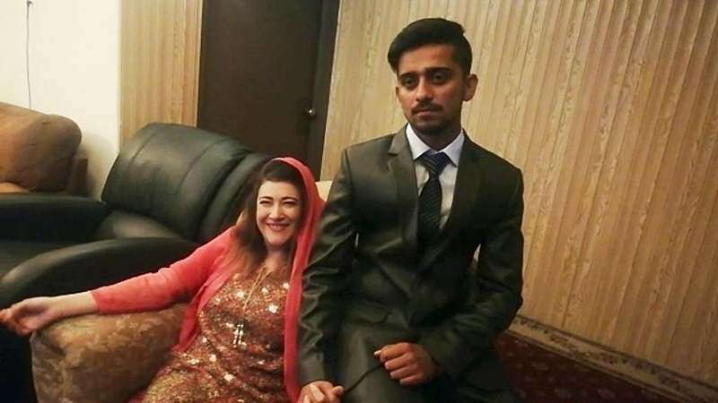 Video: 41-year-old US woman marries 21-year-old Pakistani