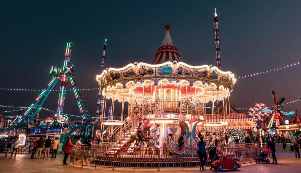 Dubai, global village, entertainment, nanny, activities, amusement park, family special