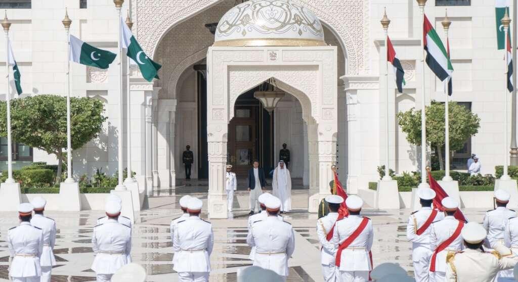 Video: Sheikh Mohamed receives Pakistan's Imran Khan - News