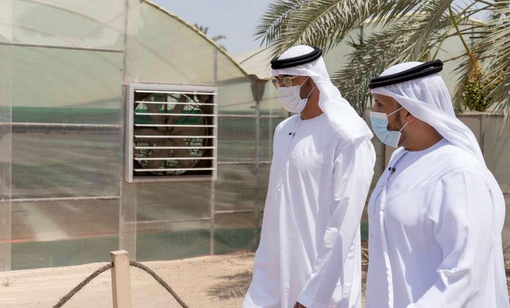 Photos, Sheikh Mohamed bin Zayed, wowed, UAE, agri-tech, visits farm