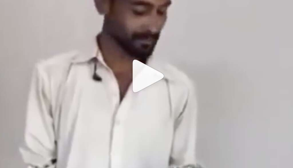 Pakistani painter's singing talent is winning the internet