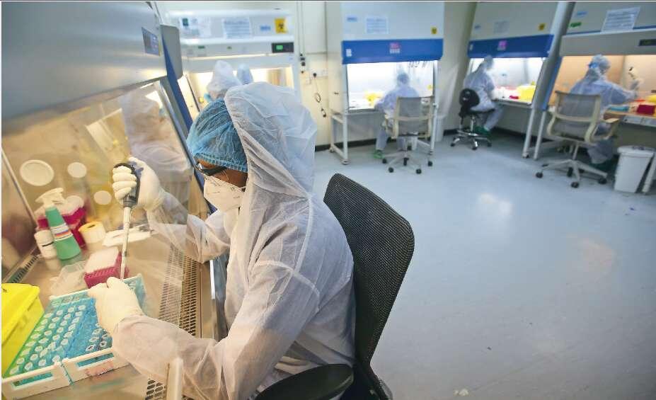covid-19, coronavirus, testing, Abu Dhabi, UAE, Abu Dhabi Police