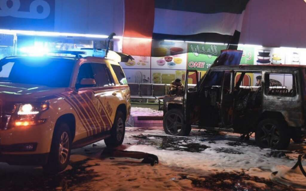 UAE, Accident, Abu Dhabi