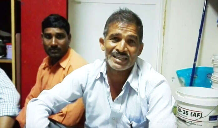Unpaid Indian workers fight for survival in UAE labour camp