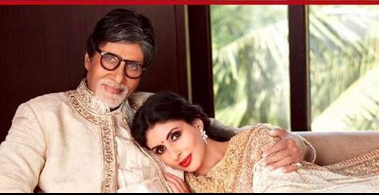Amitabh Bachchan - Shweta Nanda