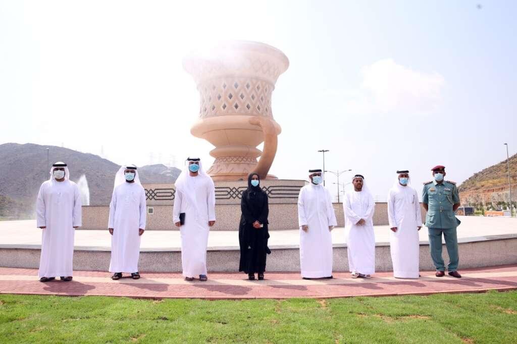 uae, sharjah, khorfakkan, Sheikh  Dr Sultan bin Muhammad Al Qasimi, Salah bin Butti Al Muhairi