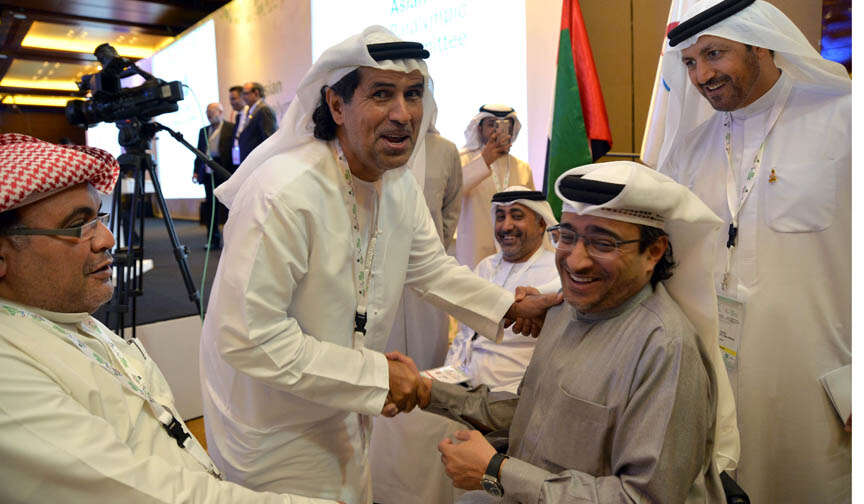 Rashed elected as Asian Paralympic Committee president