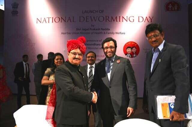 Dubai Cares contributes Dh11 million to deworming program in India