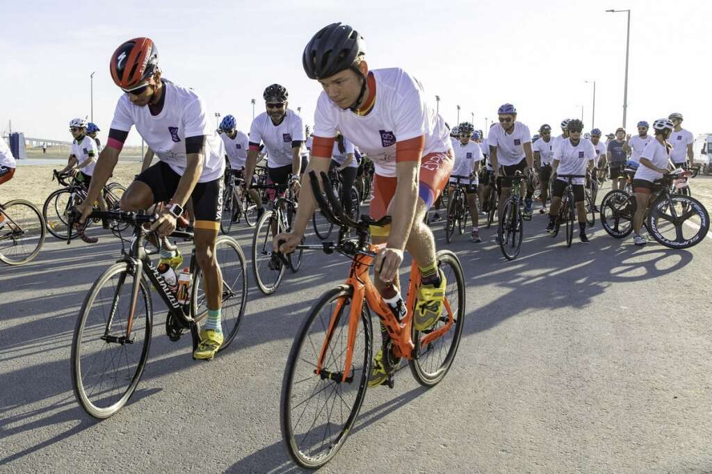 Over 200 cyclists take part in second annual Ride for Zayed