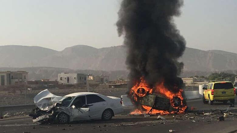 Asian man killed, five seriously injured in RAK road collision