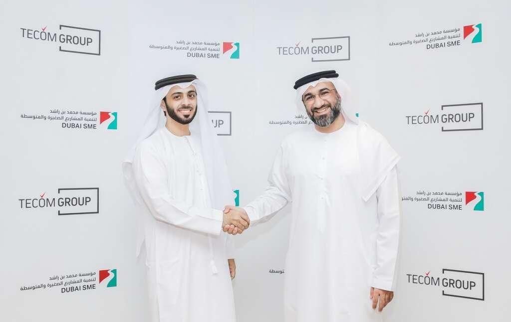 Tecom Group, Dubai SME expand partnership