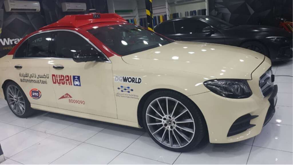 Driverless taxis to be launched in Dubai today
