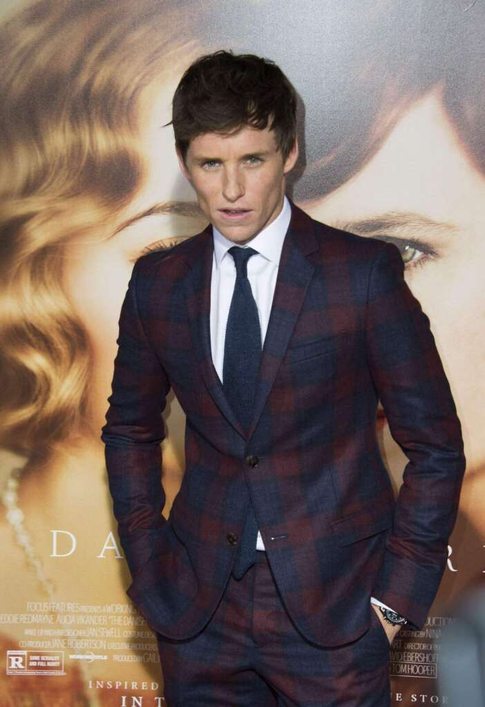 A moment of retirement for Eddie Redmayne