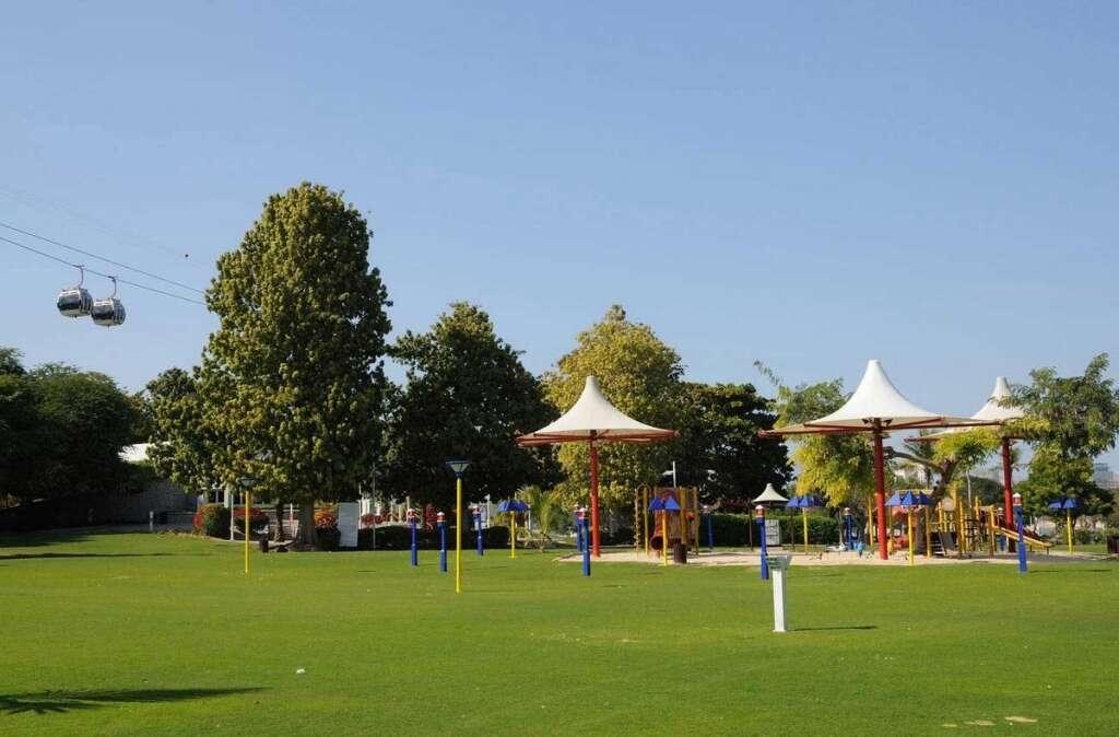 Dubai Municipality, smart cards, e-gates, playgrounds, residential neighborhoods, Dubai