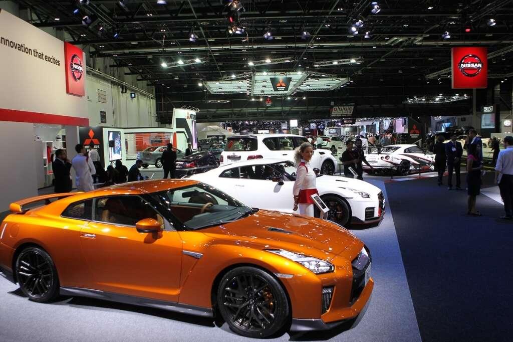 Cars At Dubai International Motor Show Sure To Leave A Mark - Car show dubai