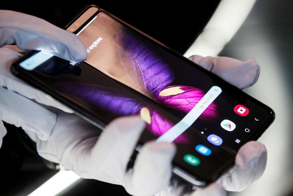 Samsungs new foldable said to be Galaxy Bloom