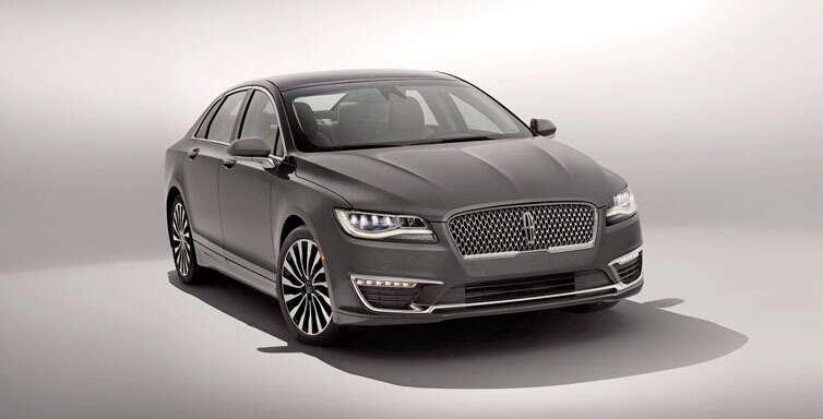 A luxury-seeking sedan
