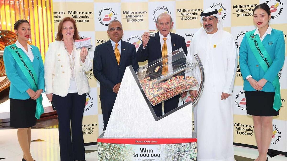 Indian student wins $1 million at Dubai Duty Free raffle