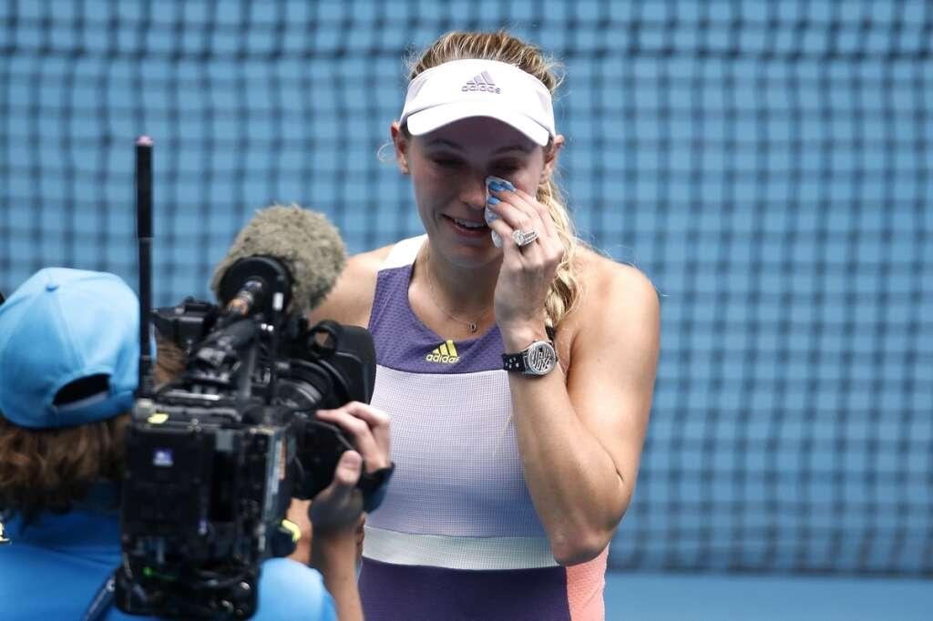 Wozniacki ends glittering career