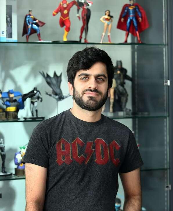 Where to catch comic book illustrator Liam Sharp in Dubai