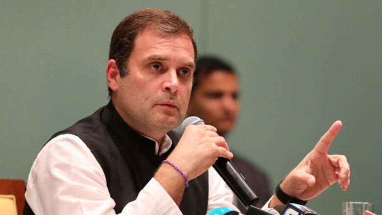 Rahul Gandhi vows New India with more jobs, growth