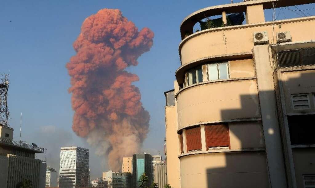 Beirut, Lebanon, smoke, port city