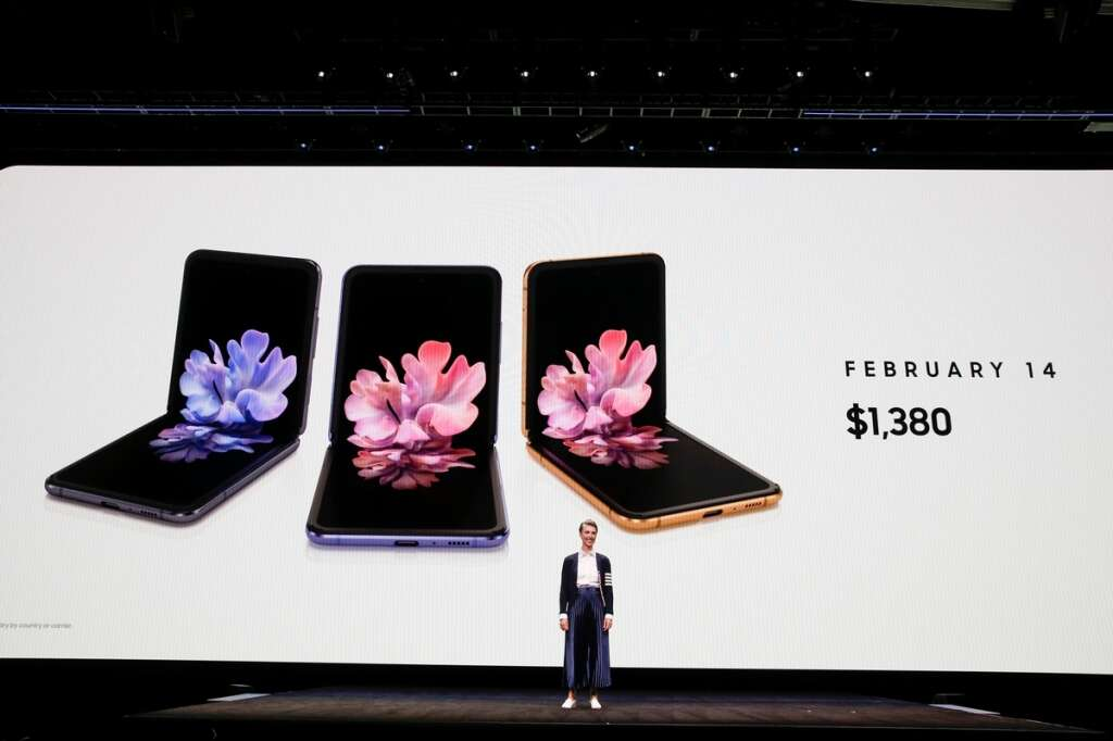 Samsung unveils foldable Galaxy Z phone, challenging Apple design and tech