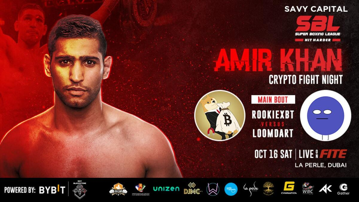 Amir Khan, two-time boxing world champion and Super Boxing League (SBL) are set to make history in t