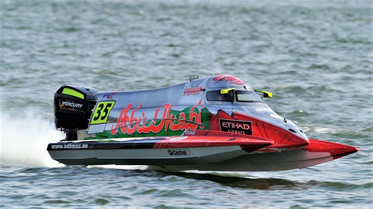 Team Abu Dhabi's Rashed Al Qemzi won on his last two appearances in Portugal in 2018 and 2019. (Supplied photo)