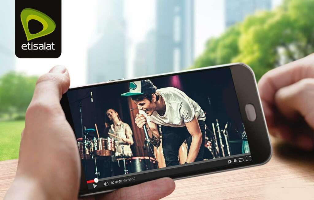 Etisalat offers unlimited video streaming for 5 fils per