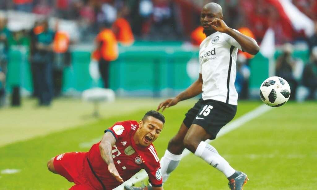 Eintracht Frankfurt stun Bayern for Cup - News | Khaleej Times