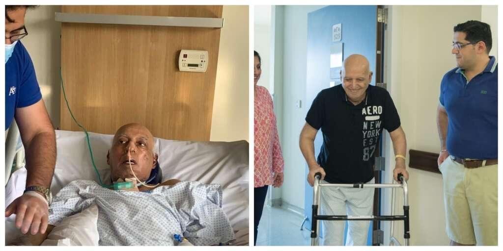 #NextStopZero, Miracle, Covid19 survivor, woke up, 2-month, coma, UAE