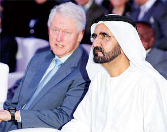 Merge academics with learning for life: Clinton