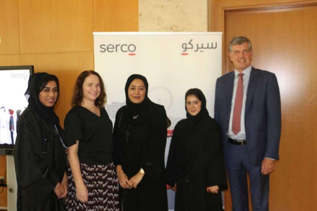 Serco celebrates achievements of female Emirati staff