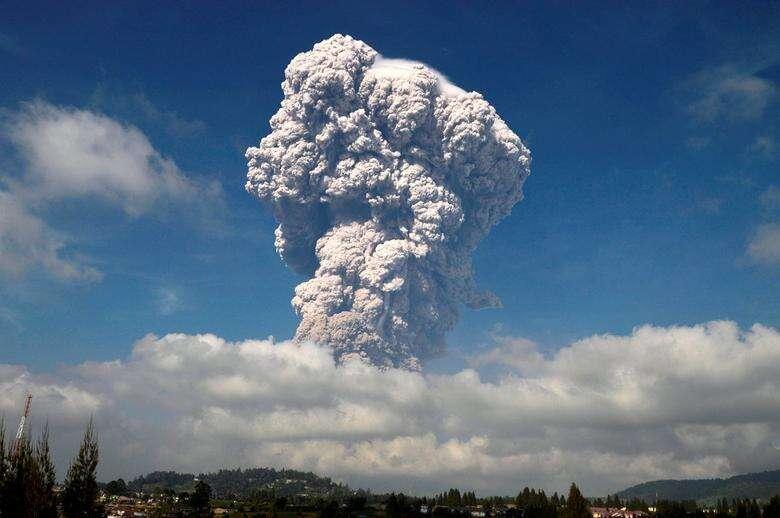 Volcano erupts in Indonesia, releases massive smoke, ash
