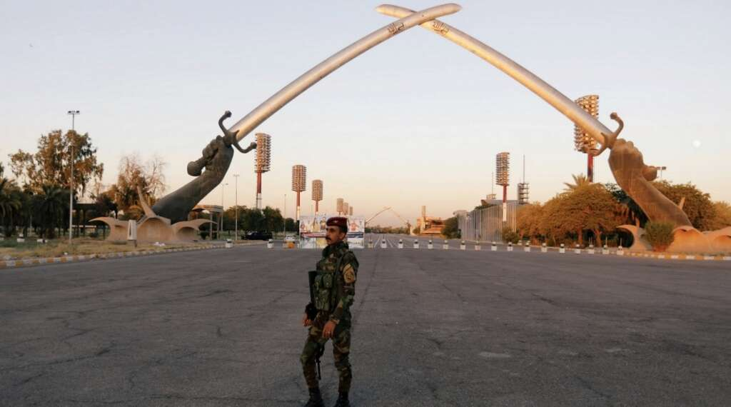 rocket, iraq base, hosting, us troops, security, sources