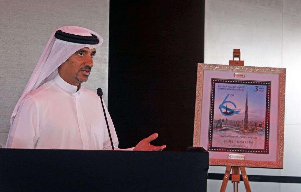 Burj Khalifa launches postage stamp to mark 6th anniversary