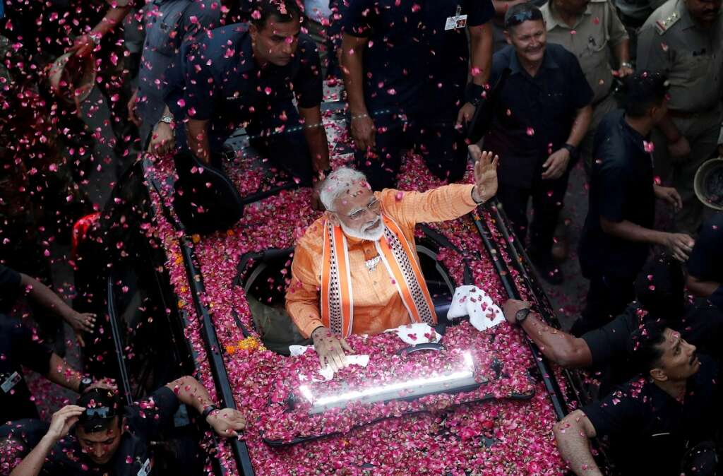 Modi's party confident after polls predict India election