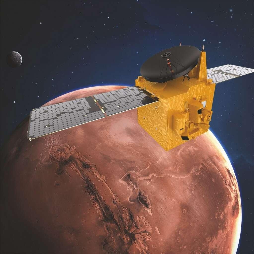 UAE, counts down, Mars Hope Probe, lift-off