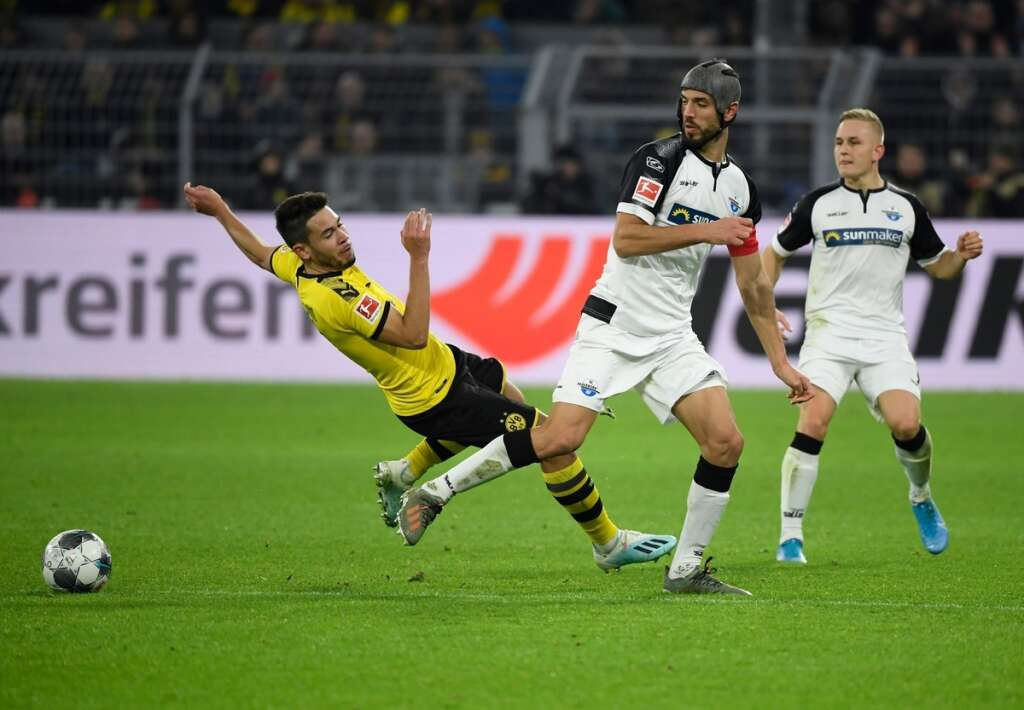 Dortmund held at home by bottom side Paderborn in six-goal thriller