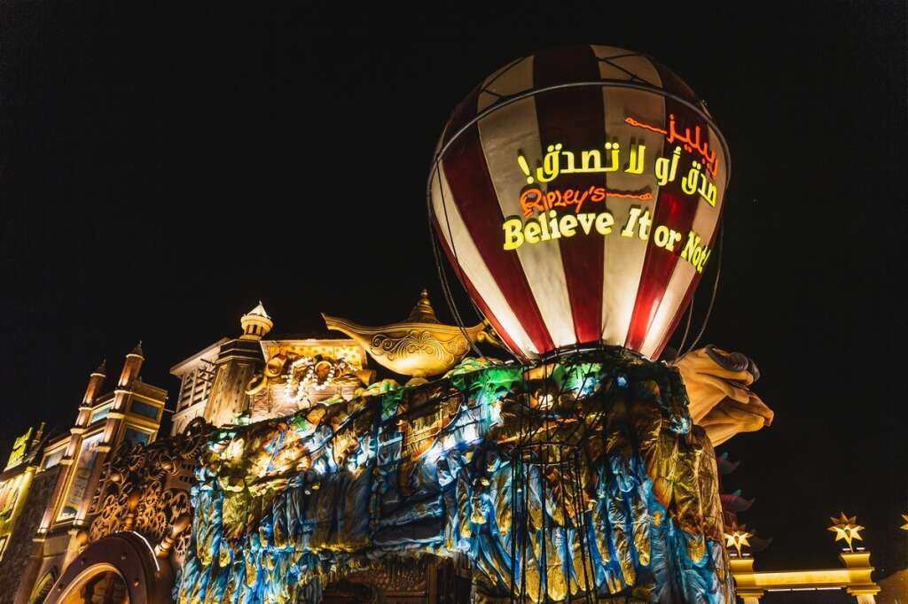 region, first-ever, Ripley's Believe It or Not!, odditorium, grand opening,