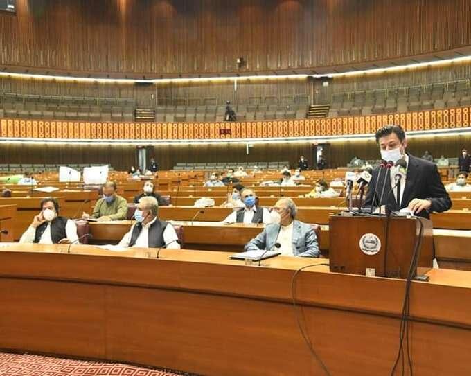 Pakistan, annual, budget, ambitious, targets, growth, no taxes, Hammad Azhar, Imran Khan