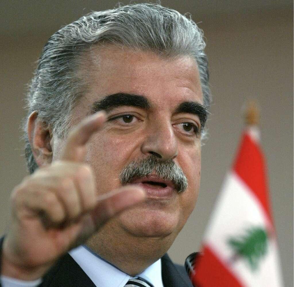Rafik Hariri, Lebanese, JFK assassination