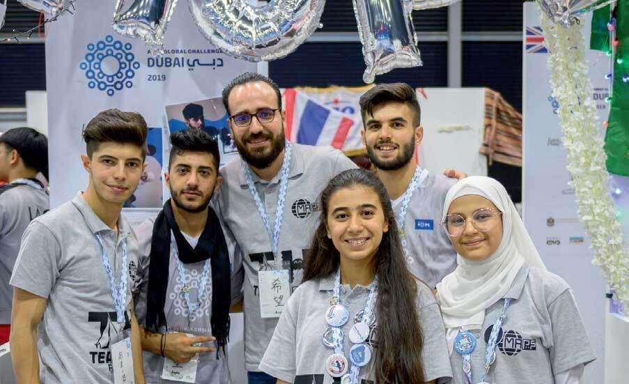 Team Hope, Team, Syrian refugees, win, biggest robotics event,