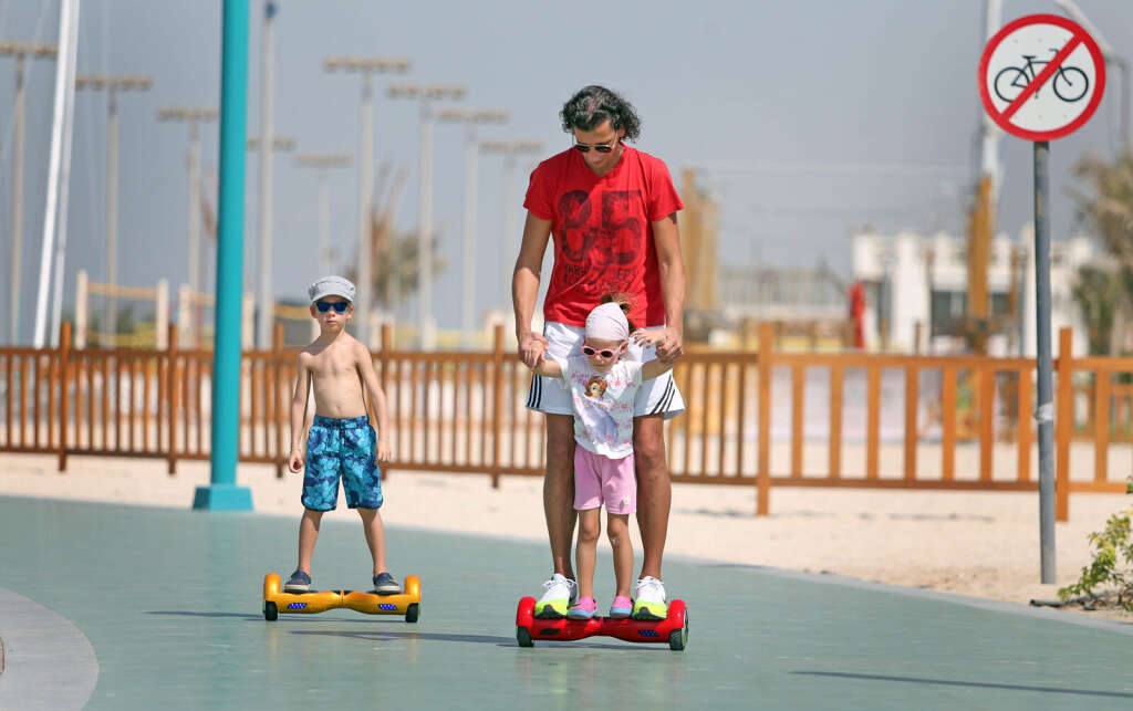 No hoverboards in public places