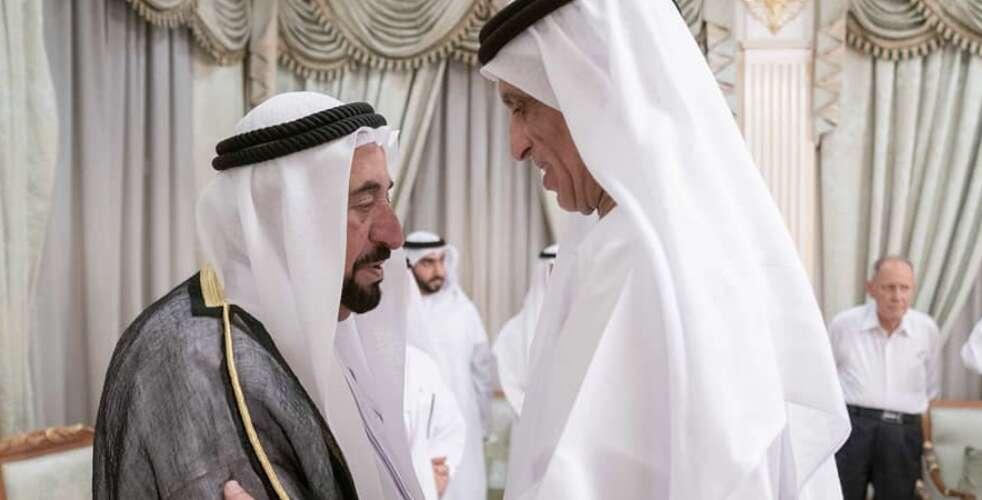 UAE leaders condole with Sharjah Ruler over royal's death - Khaleej